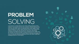 Metaphor Problem Solving PowerPoint Template and Keynote Template