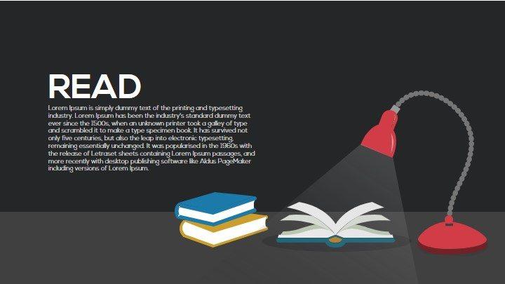 Read Metaphor Powerpoint and Keynote Template