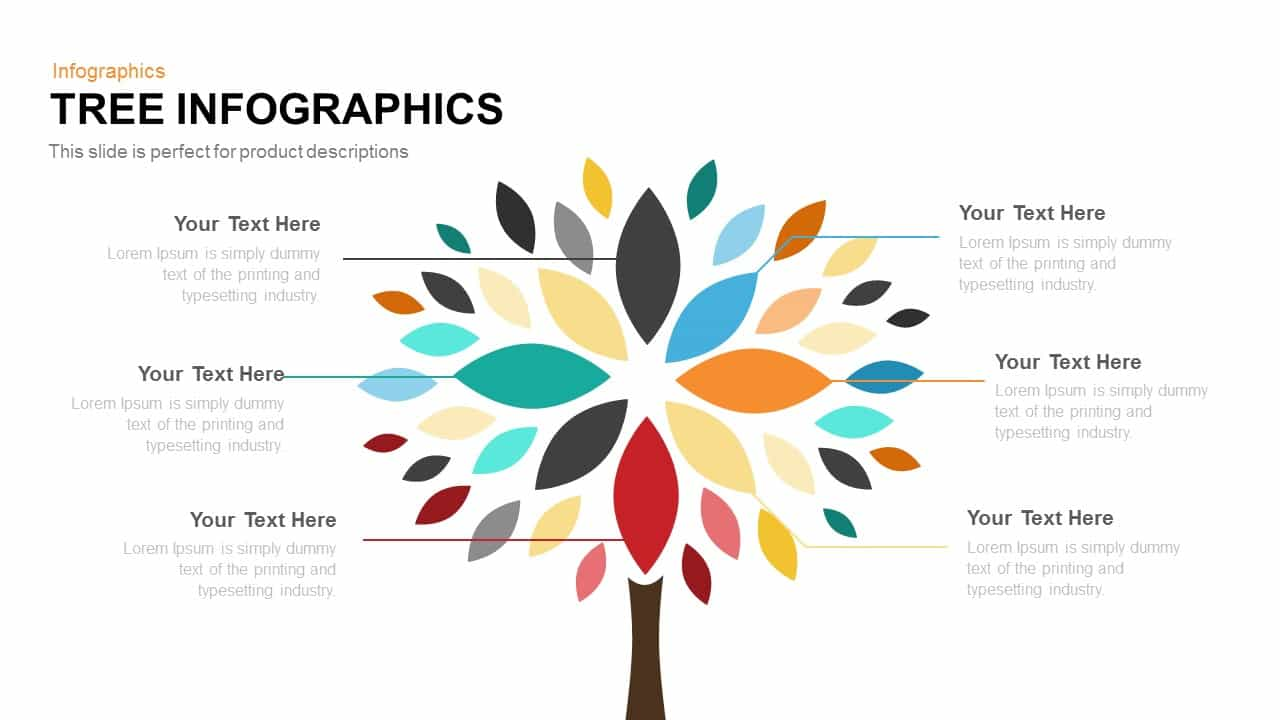 Tree Infographics PowerPoint Template and Keynote Slide
