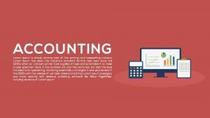 Accounting PowerPoint Template and Metaphor Keynote Slide