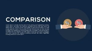 Comparison Metaphor Powerpoint and Keynote template