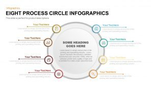 8 Process Circle Infographics Template for PowerPoint and Keynote
