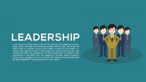 Metaphor Leadership Powerpoint Templates and Keynote template