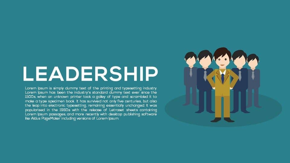 Leadership Metaphor Powerpoint and Keynote template