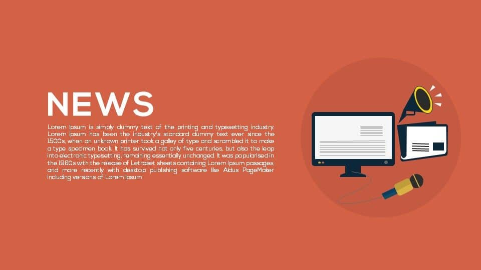 News PowerPoint Template