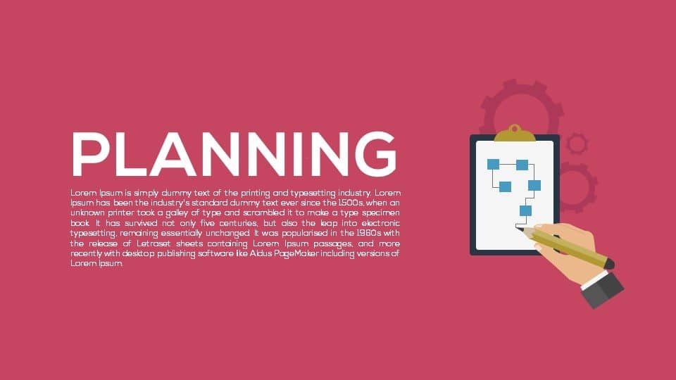 Metaphor Planning PowerPoint Template and Keynote