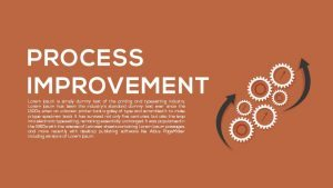 Metaphor Process Improvement PowerPoint Template and Keynote template