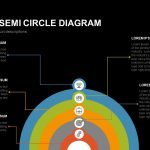 5 Staged Semi Circle Diagram Powerpoint and Keynote template