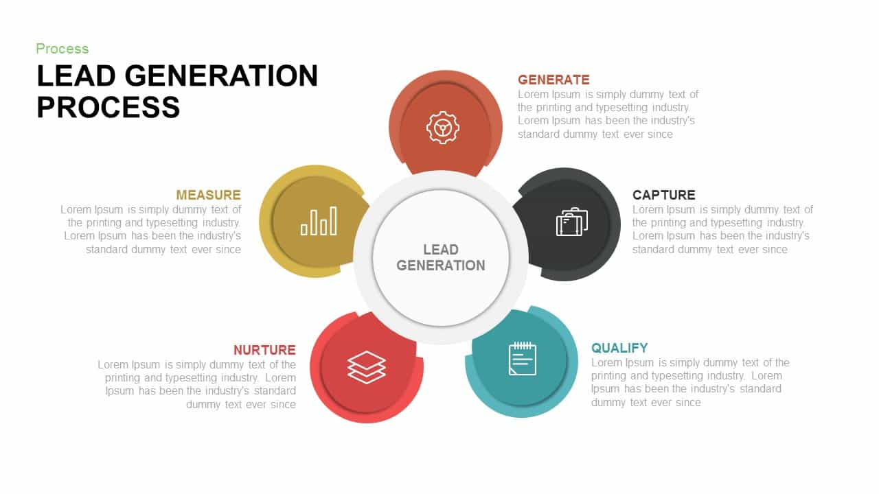 lead generation process powerpoint and keynote template slidebazaar. Black Bedroom Furniture Sets. Home Design Ideas