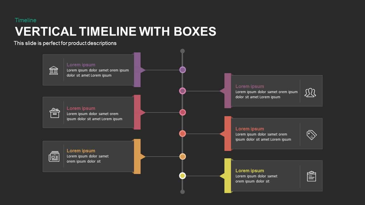 Vertical timeline with boxes powerpoint and keynote template vertical timeline with boxes powerpoint and keynote template toneelgroepblik Choice Image