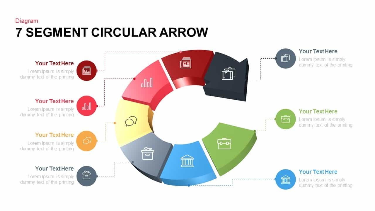 7 segment circular arrow powerpoint template slidebazaar 7 segment circular arrow powerpoint template toneelgroepblik Image collections