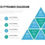 Segmented Pyramid Diagram PowerPoint Template & Keynote template