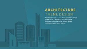 Architecture Powerpoint Keynote Background and Theme