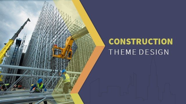 Construction powerpoint keynote background and theme slidebazaar construction powerpoint keynote background and theme toneelgroepblik Images
