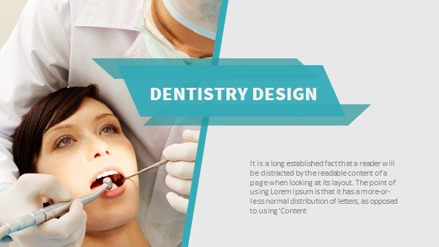 Dentistry Powerpoint Keynote Background and Theme