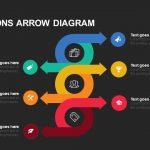 Pros & Cons Arrow Diagram Keynote