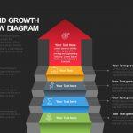 Success and Growth Stair Arrow