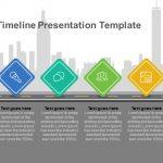 road map timeline presentation template