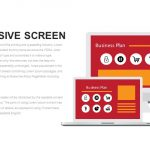 Responsive Screen Metaphor Powerpoint and Keynote template