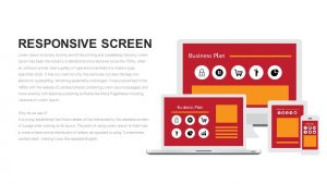 Responsive Screen Metaphor PowerPoint Template & Keynote