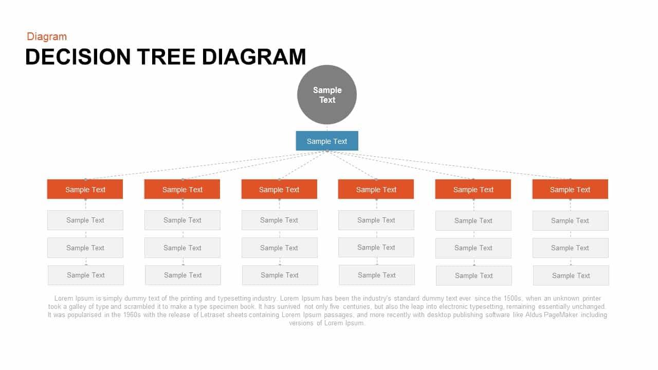 decision tree powerpoint and keynote diagram slidebazaar. Black Bedroom Furniture Sets. Home Design Ideas