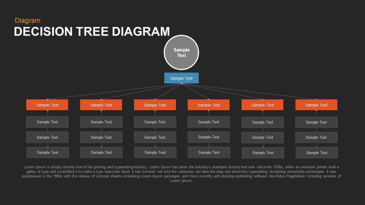 decision tree powerpoint and keynote diagram slidebazaar
