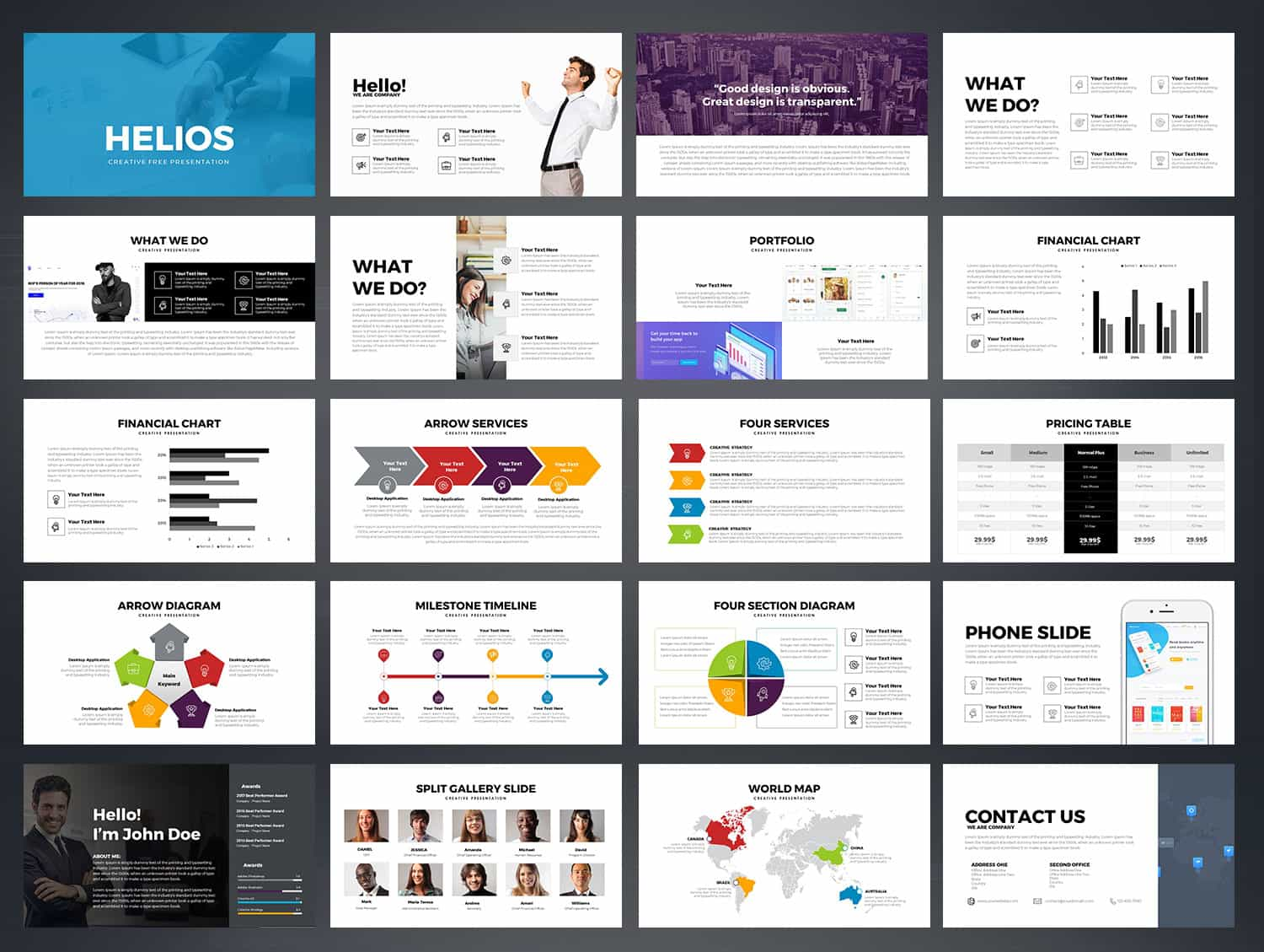 Helios free powerpoint template download slidebazaar helios free powerpoint template toneelgroepblik Gallery