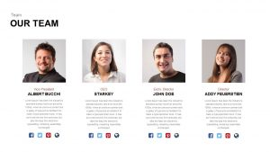 Our Team Template for PowerPoint & Keynote