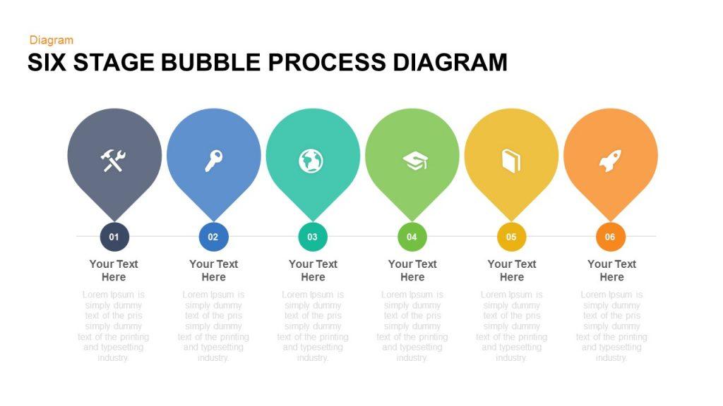 bubbles keynote template free