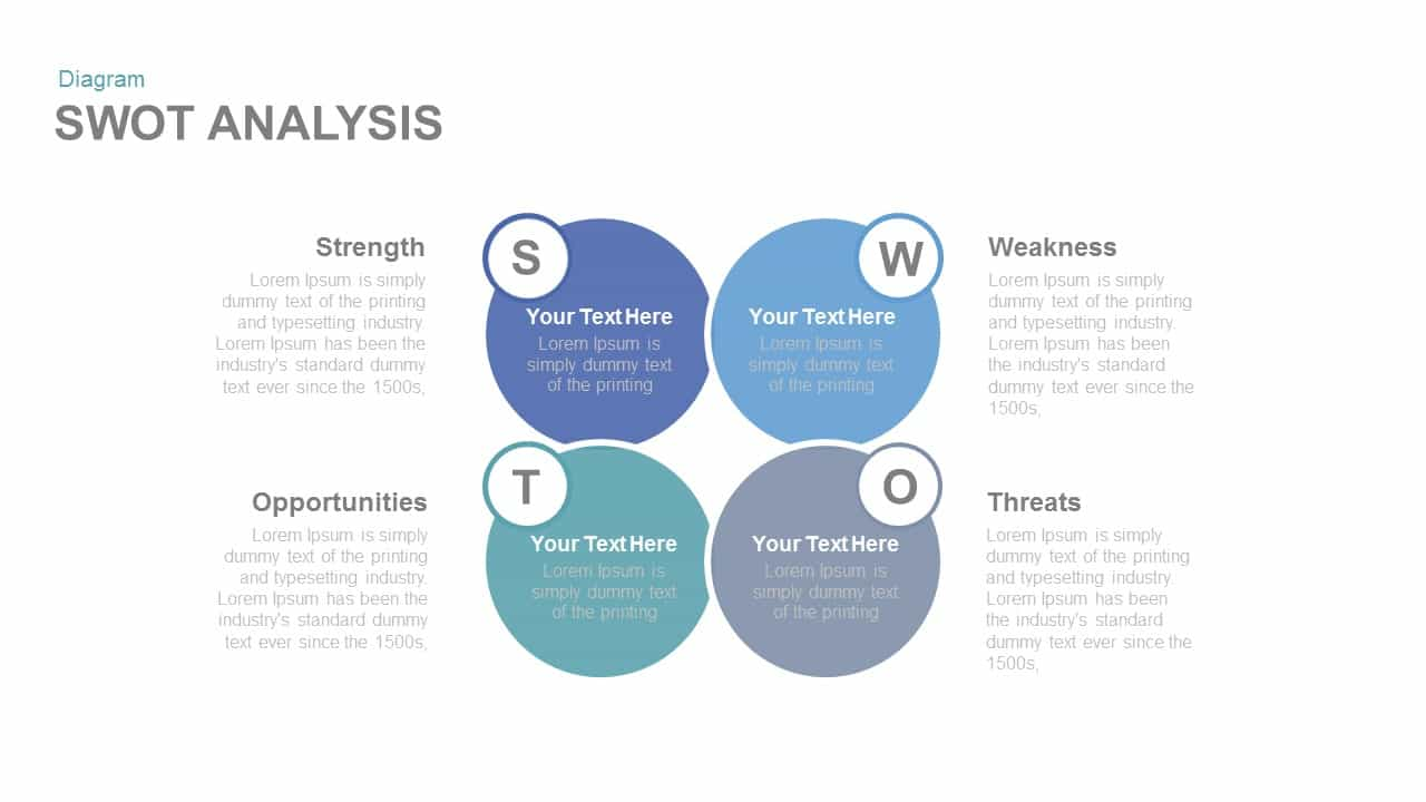 swot analysis free powerpoint and keynote template | slidebazaar, Modern powerpoint