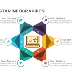 Creative Star Infographics PowerPoint Template and Keynote Template