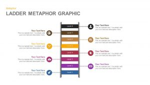 Ladder Metaphor Graphic for PowerPoint and Keynote Template