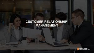 Customer Relationship Management Template for PowerPoint and Keynote