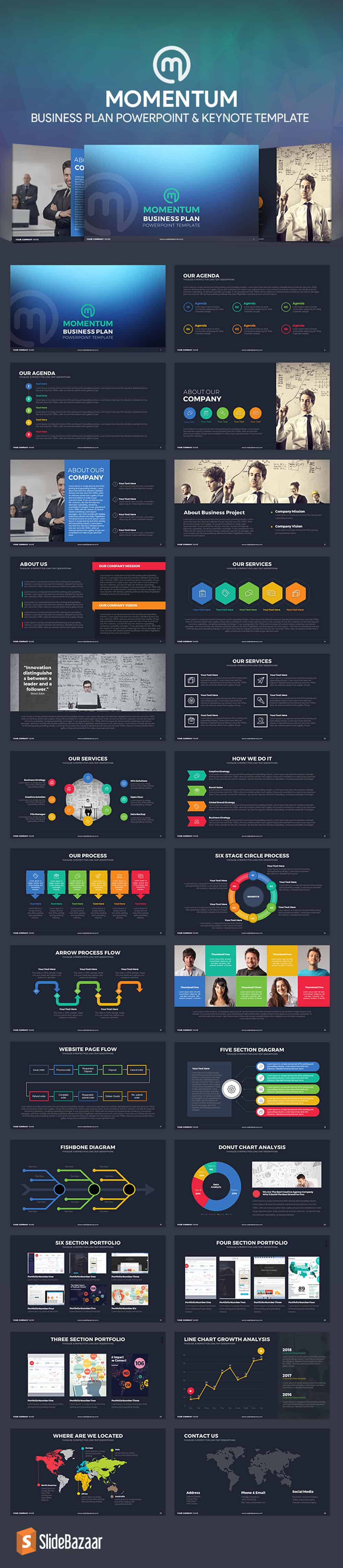 momentum-business-plan-PowerPoint-template