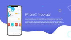 iPhone X Mockups Template for PowerPoint & Keynote