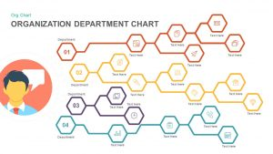 Organization Chart PowerPoint Template and Keynote with Department