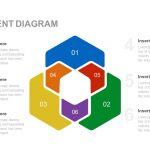 Six segment diagram PowerPoint template