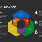 Six Segment Diagram PowerPoint template