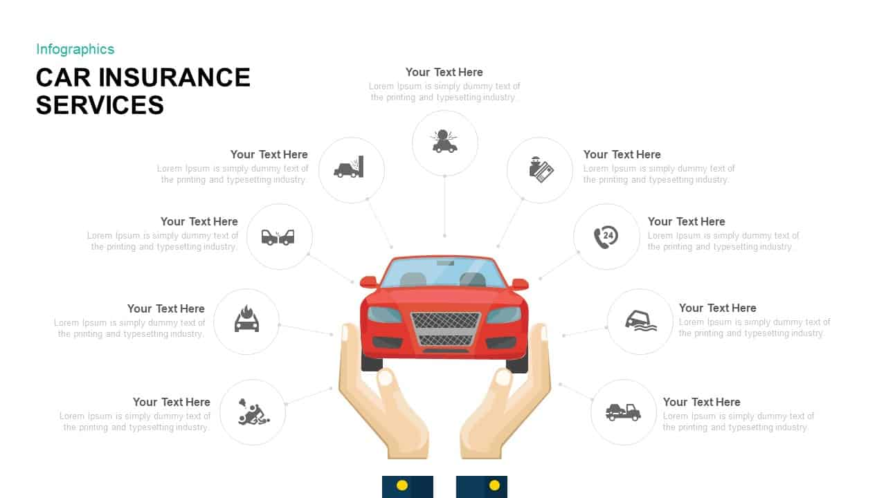 car insurance powerpoint template ppt and keynote