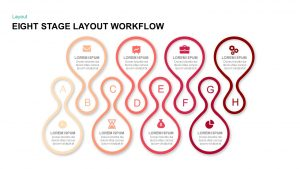 Eight Stage Layout Workflow PowerPoint Template & Keynote Presentations