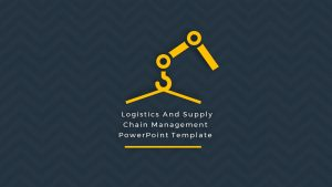 Supply Chain Management PowerPoint Template and Logistics