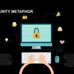 Metaphor Cyber Security PowerPoint Template