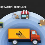 Truck Illustration Metaphor template for PowerPoint and Keynote