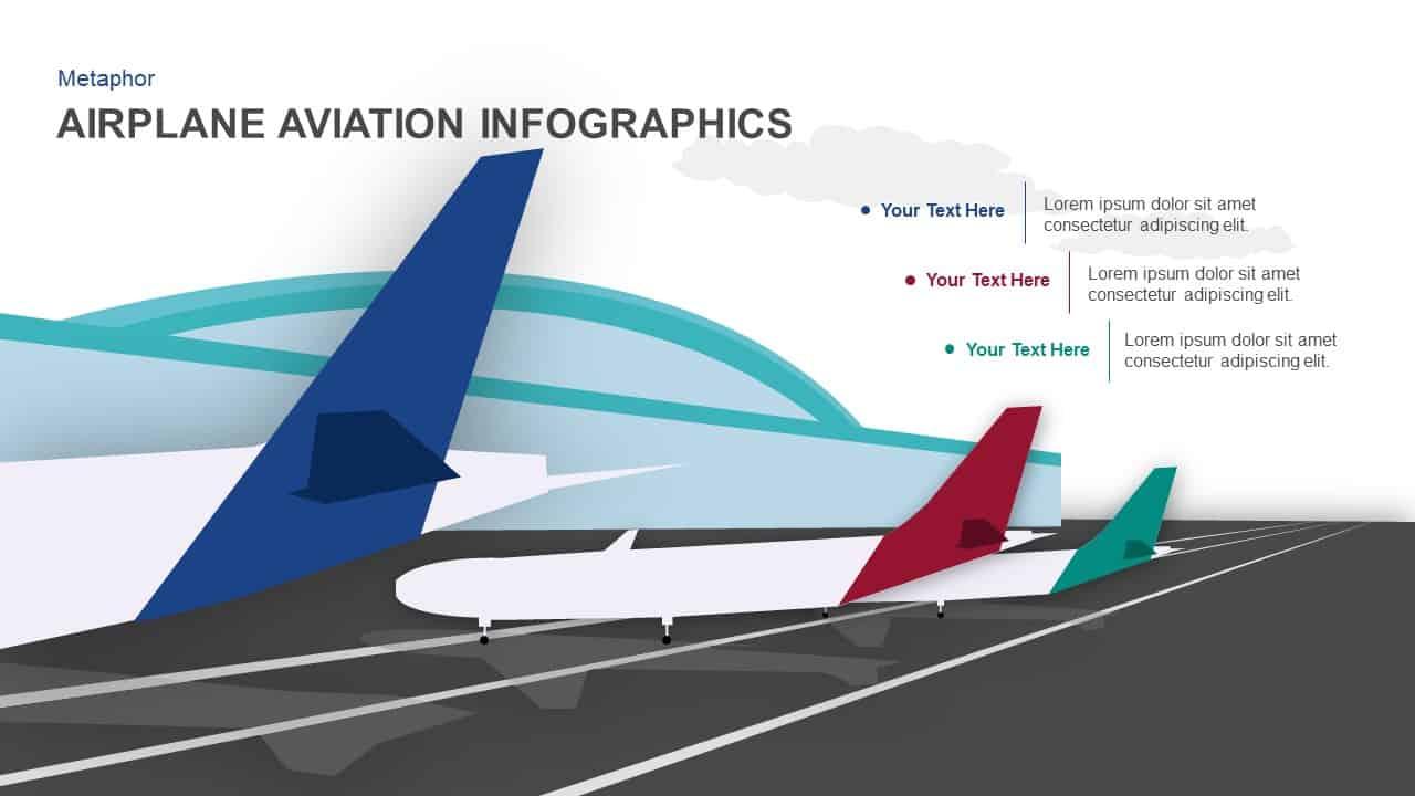 Airplane aviation powerpoint template and keynote slidebazaar airplane infographics aviation powerpoint template toneelgroepblik Choice Image