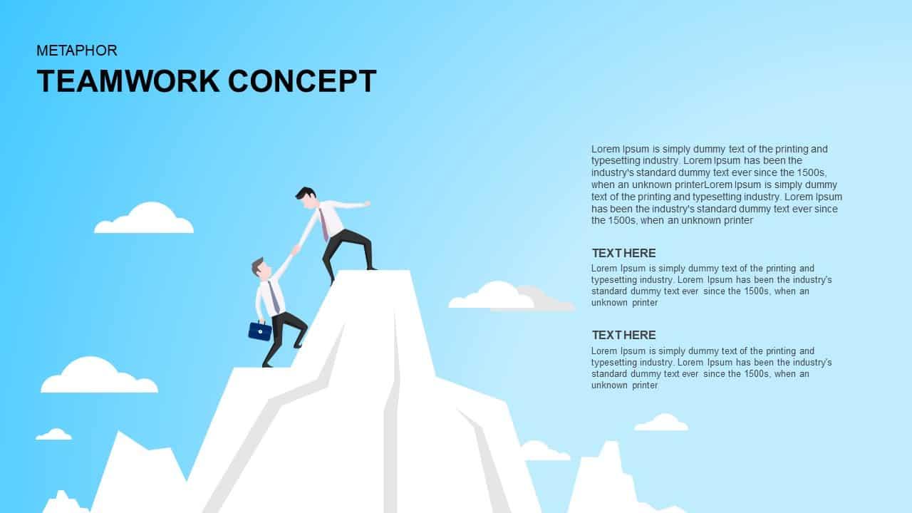 Teamwork concept powerpoint template and keynote slidebazaar teamwork concept powerpoint template and keynote toneelgroepblik Choice Image