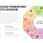 8 Step Process PowerPoint And Keynote Diagram