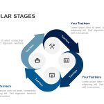 Circular stages powerpoint template and keynote slide