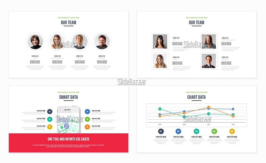 Modern Pitch Deck Free PowerPoint Presentation Template