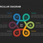 Six stage circular diagram powerpoint template and keynote