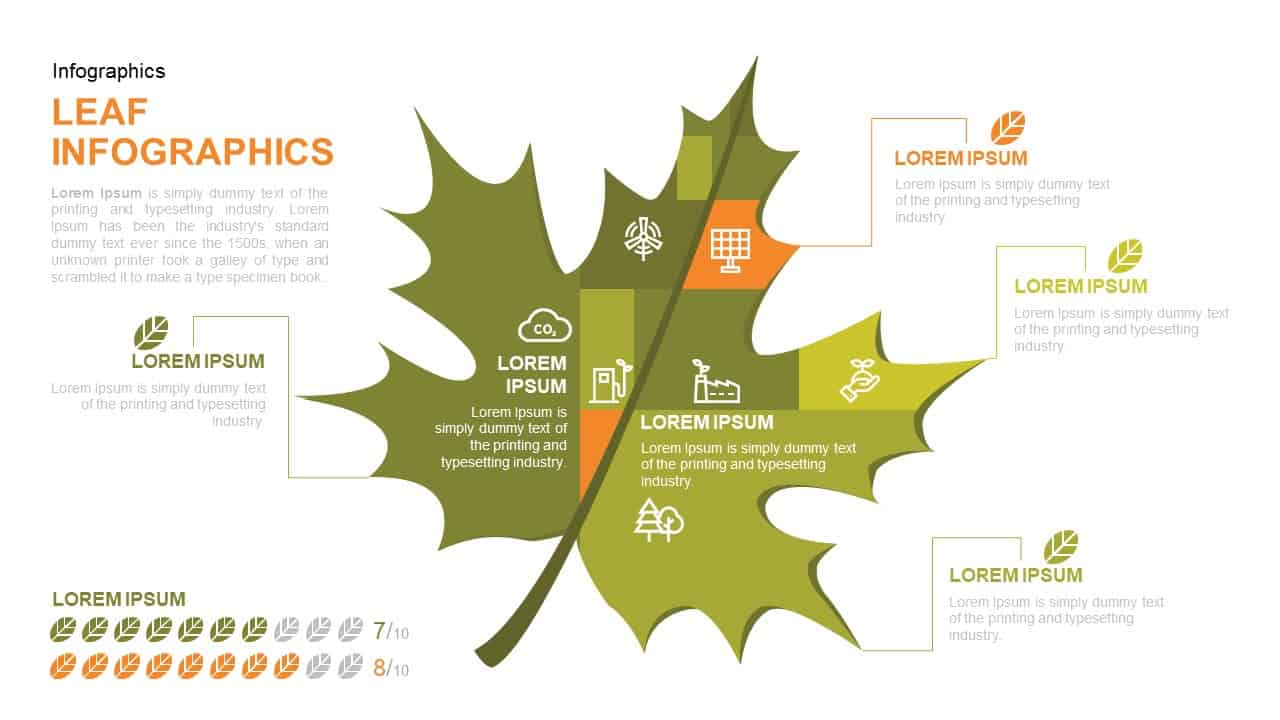 Leaf PowerPoint Template and Keynote